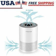 Table Hepa Filter Air Purifier Cleaner Carbon Odor Remover Home Powerful Top