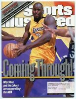 SI: Sports Illustrated January 17, 2000 Coming Through!: Shaq, LA Lakers, VG