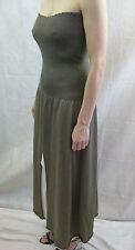 Crea Concept Size 42 or 10 Brown White Sparkle Strapless Dress