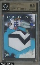 2016 Panini Origins Turquoise Ezekiel Elliott RC Rookie Patch /25 BGS 9.5