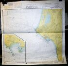 VINTAGE DEPTH CHART MAP 18603 ST. GEORGE REEF CRESCENT CITY CALIFORNIA 22X26.5