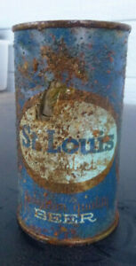 vintage St. Louis Beer Flat Top Can