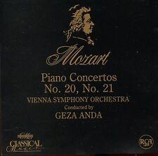 Mozart / Piano Concertos No. 20 & 21 - Vienna Symphony Orchestra - Geza Anda RCA