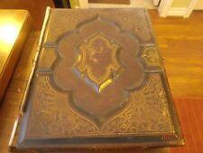 1873 Antique Holy Bible Philadelphia: William W. Harding 144 years old
