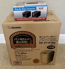 Zojirushi Home Bakery 1 loaf for Bb-St10-Wa W/Converter