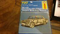 HAYNES FIAT 124 & 124 Special WORKSHOP MANUAL 1966-74 1197cc & 1438cc