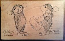 House Mouse Santa Rosa Rubber Stamp A Kiss 002 Limited Edition 3918/20000