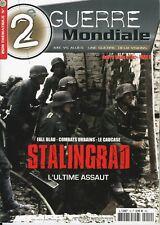 2ème GUERRE MONDIALE, STALINGRAD L'ULTIME ASSAUT, N° 12