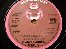 """GLADYS KNIGHT & THE PIPS - THE ONE AND ONLY  7"""" VINYL"""