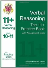 The 11+ Verbal Reasoning Practice Book with Assessment Tests (Ages 10-11) By Ri
