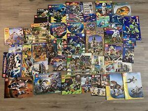 Vintage Lego Instruction Manuals Harry Potter Star Wars Marvel Kingdoms Huge Lot