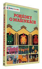 Pohadky o masinkach 2DVD Czech cartoon animated fairy tale 1987