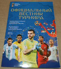 FIFA World Cup Soccer 2018 Russia OFFICIAL Newspaper Magaziine HARD FIND