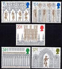 GB MNH STAMP SET 1989 Christmas Ely Cathedral SG 1462-1466 UMM