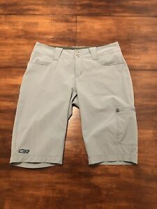Outdoor Research Womens Shorts Green hiking and adventure EUC