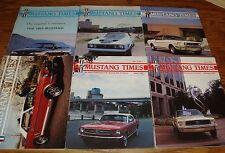 1993 Ford Mustang Times Magazine Vol 17 No 4 8 9 10 11 12 Lot of 6 93