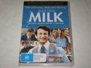 Milk - Sean Penn - Brand New & Sealed - Region 4 - DVD