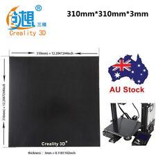 Glass Heat Bed Plate Creality 3D 310X310mm 3D Printer CR-10/10S Borosilicate