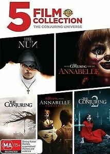 The Conjuring Universe (DVD) Brand New and Sealed Region 4 🔥🔥