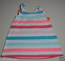 Gymboree girl size 10 NWT striped tank top pink white green