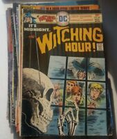 1975 DC Comics THE WITCHING HOUR #60 horror creepy spooky comic halloween rare!