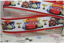 1 yard (90cm) CARS MCQUEEN 22mm Ribbon - Gift Wrapping - DIY Hair Bow Accessory