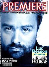 PREMIERE n°174 septembre 1991  LUC BESSON/ BONNAIRE/ DEPARDIEU/ PICCOLI