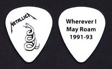Metallica White Coiled Snake Guitar Pick - 2012 Tour