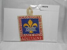 1947 WORLD JAMBOREE AQUITAINE FRANCE   B2279