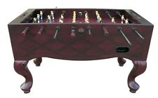 Furniture Foosball Fussball Table Mahogany FREE Shipping