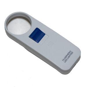 7X UltaOptix LED Pocket Illuminated Magnifier - 1.9 Inch Lens