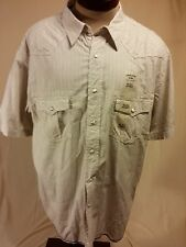 Cannon River Pearl Snap short sleeve shirt with 2 front snap breast pockets