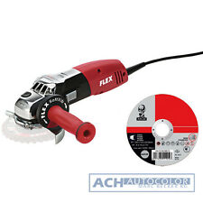 FLEX Angle grinder LE 14-7 125 + 25 x ATLAS Cut-off wheel 125x1x22,2 # 386.924