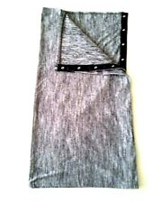 Lululemon Vinyasa Scarf Rulu Snap Wrap Space Dye Gray NEW WITH TAGS
