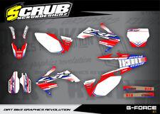 Honda graphics decals CRf 250R 2004 - 2005 '04 - '05 SCRUB  Motocross