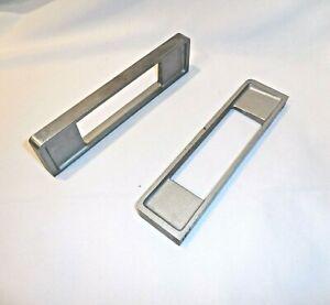 "Test Equipment Handles 7"" Aluminum 4 Threaded Mounting Holes Pulls"