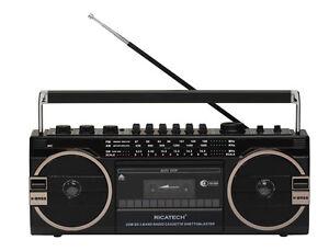 Mini chaîne style Ghetto Blaster Ricatech PR1980 - Ricatech
