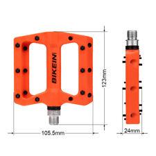 "9/16"" MTB Mountain Bike Bicycle Cycling Nylon Fiber Bearing Pedals Flat Platform"