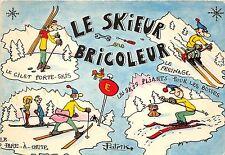 BR5577 Le Skieur bricoleur Ski  sport
