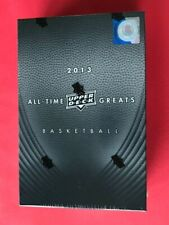 2013 UPPER DECK ALL TIME GREATS BASKETBALL HOBBY BOX JORDAN, LEBRON, MAGIC, BIRD