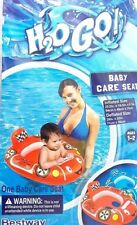 Cars Red Race Car Splash and Play Baby Care Seat  Swimming Pool Float Tube