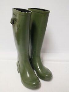 Green Aigle Wellington Boots Size 36 (Mar)