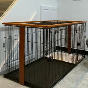 Dog Crate Small Dog Home Indoor Dog Cage with Toilet