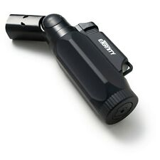 Eternity Quad Jet Flame Refillable Torch Lighter with Adjustable Flame Angle