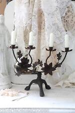 Jeanne d'Arc Living Kerzenleuchter Altarleuchter Metall dark Patina Shabby Chic