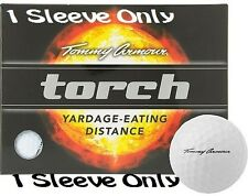 NEW – Tommy Armour TORCH golf balls- WHITE (1 Sleeve; 3 Balls Total)