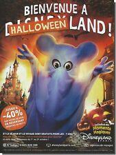 Werbung Werbung 2011 Disney Land (Werbung Papier)