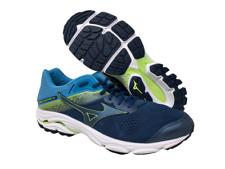 Mizuno Men's Wave Inspire 15 Running Shoe, Blue Teal/Dress Blue, 12.5 2E(W) US
