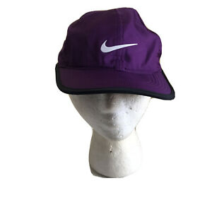 Nike Womens Hat Purple One Size Light Weight Golf Outdoor Adjustable Bill Cap