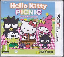 Nintendo 2DS~3DS **HELLO KITTY PICNIC** nuovo sigillato italiano